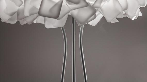 Lampa podłogowa SLAMP Clizia white