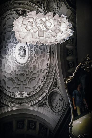 Lampa wisząca SLAMP CLIZIA white 53 cm