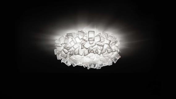 Plafon SLAMP Clizia white 78 cm