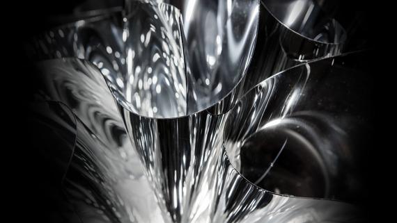 Plafon SLAMP Veli silver 53 cm