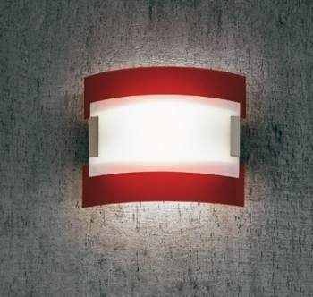 Plafon Sillux NEW YORK LS 5/232 czerwony 50 cm