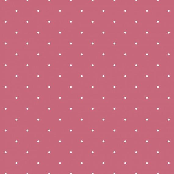 Różowa tapeta w groszki Grandeco JACK 'N ROSE LL-04-09-3